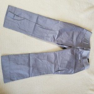 NWT Express Columnist Low Rise Crop Pant Gray 2